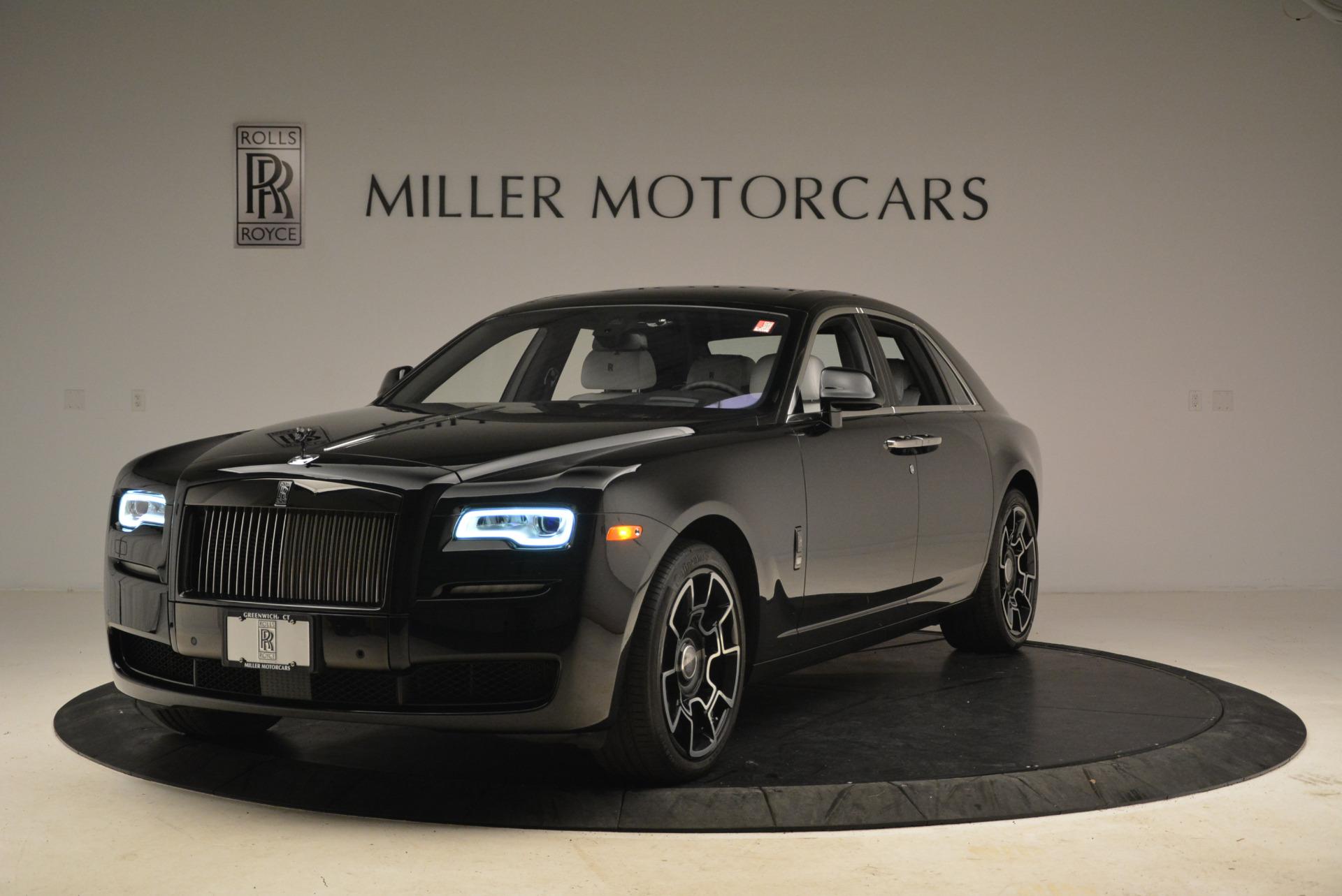 Used 2017 Rolls-Royce Ghost Black Badge for sale Sold at Alfa Romeo of Westport in Westport CT 06880 1