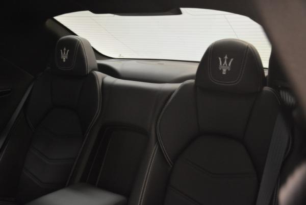 Used 2016 Maserati GranTurismo Sport for sale $61,900 at Alfa Romeo of Westport in Westport CT 06880 21