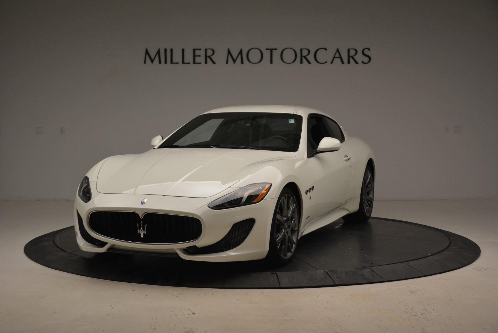 Used 2016 Maserati GranTurismo Sport for sale $61,900 at Alfa Romeo of Westport in Westport CT 06880 1