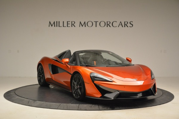 New 2018 McLaren 570S Spider for sale Sold at Alfa Romeo of Westport in Westport CT 06880 11
