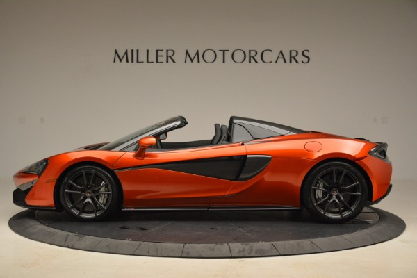 New 2018 McLaren 570S Spider for sale Sold at Alfa Romeo of Westport in Westport CT 06880 3
