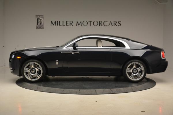 Used 2015 Rolls-Royce Wraith for sale Sold at Alfa Romeo of Westport in Westport CT 06880 3