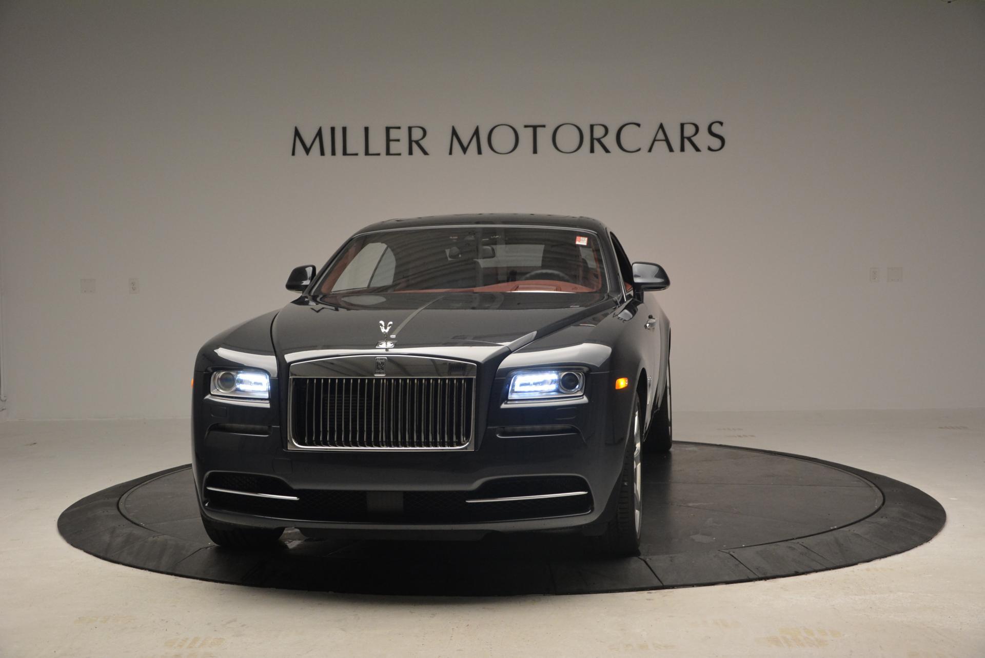 Used 2016 Rolls-Royce Wraith for sale Sold at Alfa Romeo of Westport in Westport CT 06880 1