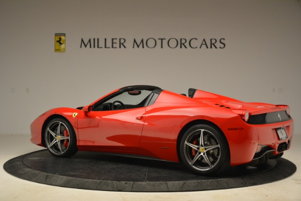 Used 2014 Ferrari 458 Spider for sale Sold at Alfa Romeo of Westport in Westport CT 06880 4