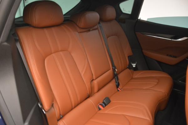 New 2018 Maserati Levante Q4 GranSport for sale Sold at Alfa Romeo of Westport in Westport CT 06880 22