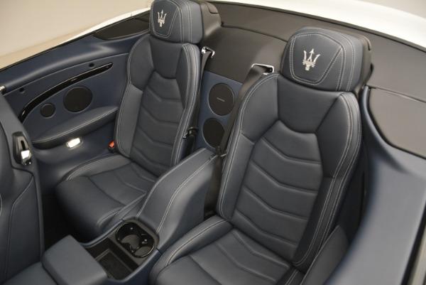 New 2018 Maserati GranTurismo Sport Convertible for sale Sold at Alfa Romeo of Westport in Westport CT 06880 21