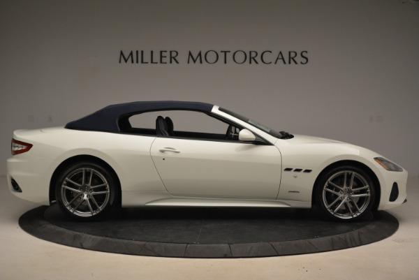 New 2018 Maserati GranTurismo Sport Convertible for sale Sold at Alfa Romeo of Westport in Westport CT 06880 7
