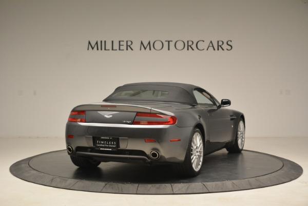 Used 2009 Aston Martin V8 Vantage Roadster for sale Sold at Alfa Romeo of Westport in Westport CT 06880 19