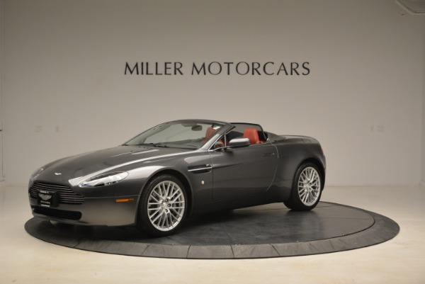 Used 2009 Aston Martin V8 Vantage Roadster for sale Sold at Alfa Romeo of Westport in Westport CT 06880 2