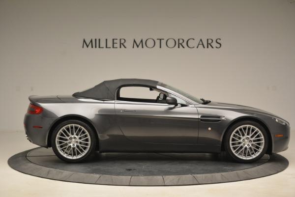 Used 2009 Aston Martin V8 Vantage Roadster for sale Sold at Alfa Romeo of Westport in Westport CT 06880 21
