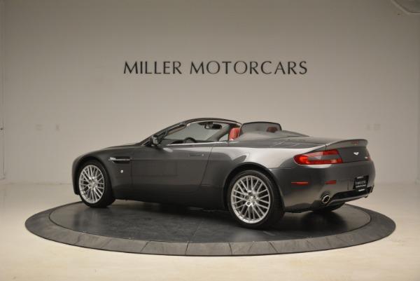 Used 2009 Aston Martin V8 Vantage Roadster for sale Sold at Alfa Romeo of Westport in Westport CT 06880 4