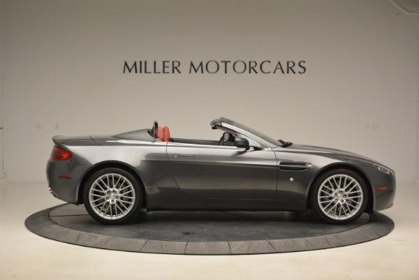 Used 2009 Aston Martin V8 Vantage Roadster for sale Sold at Alfa Romeo of Westport in Westport CT 06880 9