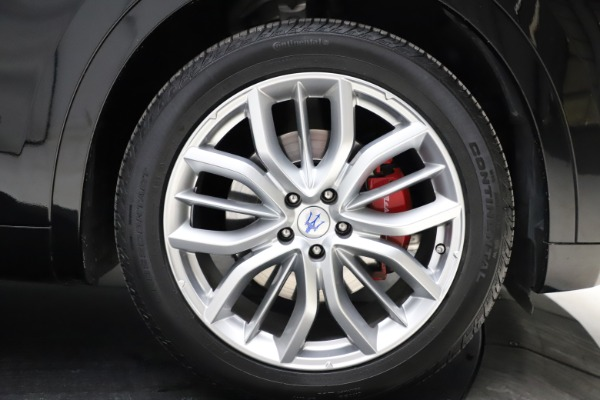 Used 2018 Maserati Levante Q4 GranSport for sale $53,900 at Alfa Romeo of Westport in Westport CT 06880 14