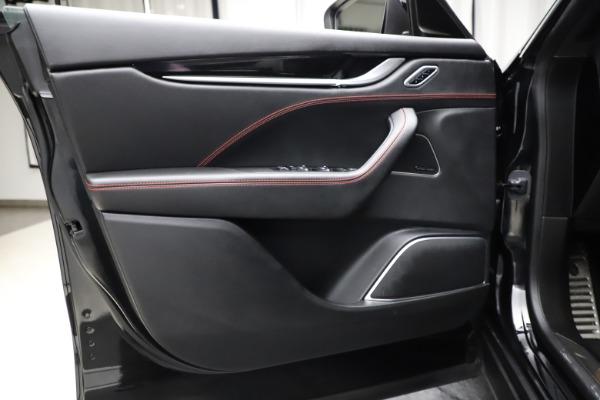 Used 2018 Maserati Levante Q4 GranSport for sale $53,900 at Alfa Romeo of Westport in Westport CT 06880 20