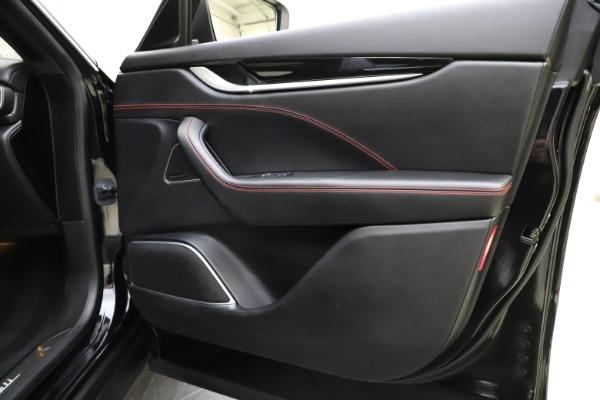 Used 2018 Maserati Levante Q4 GranSport for sale $53,900 at Alfa Romeo of Westport in Westport CT 06880 26