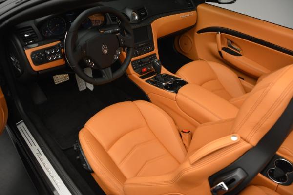Used 2015 Maserati GranTurismo Sport Convertible for sale Sold at Alfa Romeo of Westport in Westport CT 06880 19