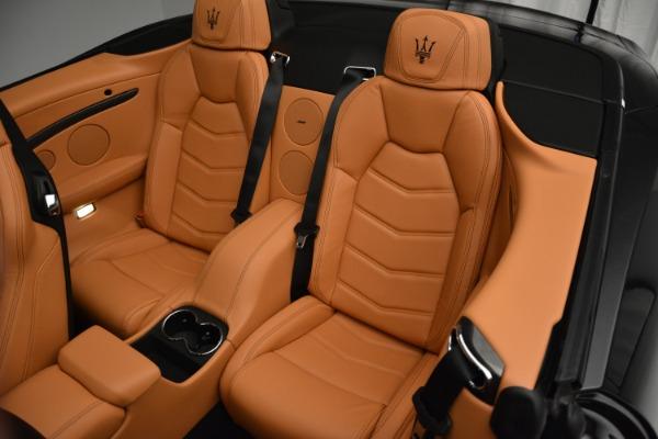 Used 2015 Maserati GranTurismo Sport Convertible for sale Sold at Alfa Romeo of Westport in Westport CT 06880 22
