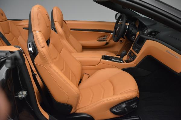 Used 2015 Maserati GranTurismo Sport Convertible for sale Sold at Alfa Romeo of Westport in Westport CT 06880 24