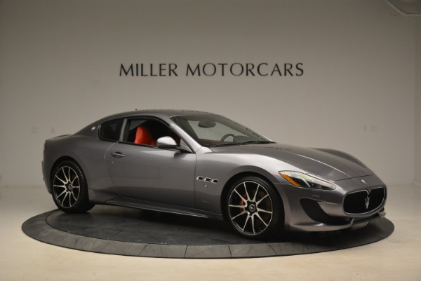 Used 2014 Maserati GranTurismo Sport for sale Sold at Alfa Romeo of Westport in Westport CT 06880 8