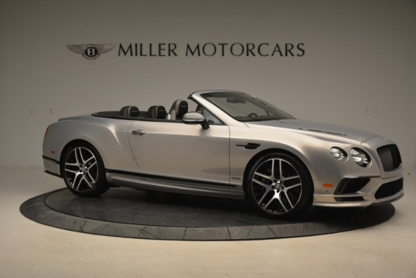 Used 2018 Bentley Continental GT Supersports Convertible for sale Sold at Alfa Romeo of Westport in Westport CT 06880 10