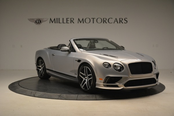 Used 2018 Bentley Continental GT Supersports Convertible for sale Sold at Alfa Romeo of Westport in Westport CT 06880 11