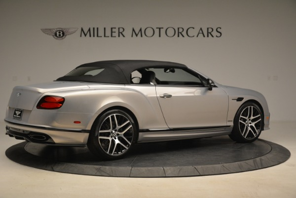 Used 2018 Bentley Continental GT Supersports Convertible for sale Sold at Alfa Romeo of Westport in Westport CT 06880 17