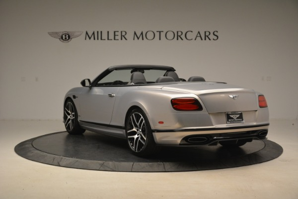 Used 2018 Bentley Continental GT Supersports Convertible for sale Sold at Alfa Romeo of Westport in Westport CT 06880 5