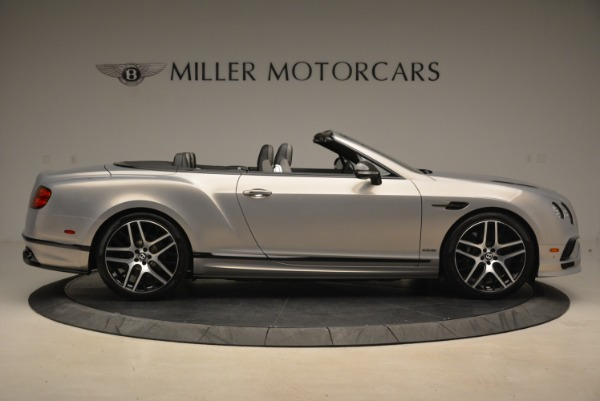 Used 2018 Bentley Continental GT Supersports Convertible for sale Sold at Alfa Romeo of Westport in Westport CT 06880 9