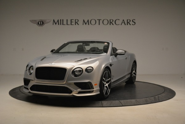 Used 2018 Bentley Continental GT Supersports Convertible for sale Sold at Alfa Romeo of Westport in Westport CT 06880 1
