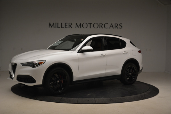 New 2018 Alfa Romeo Stelvio Ti Sport Q4 for sale Sold at Alfa Romeo of Westport in Westport CT 06880 2