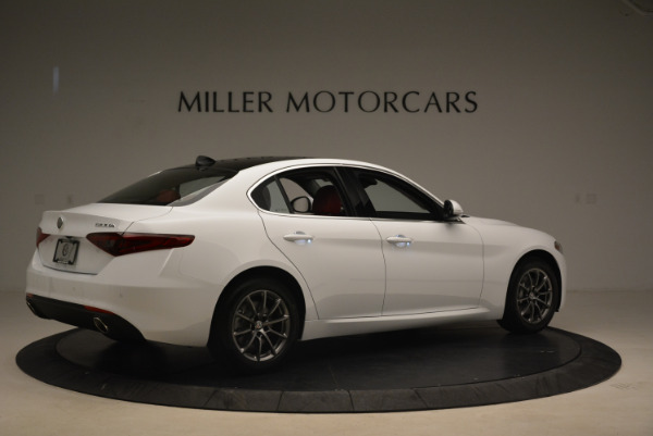 New 2018 Alfa Romeo Giulia Q4 for sale Sold at Alfa Romeo of Westport in Westport CT 06880 8