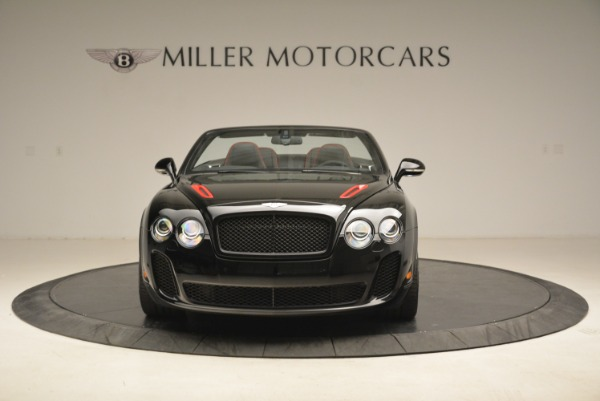 Used 2013 Bentley Continental GT Supersports Convertible ISR for sale Sold at Alfa Romeo of Westport in Westport CT 06880 12