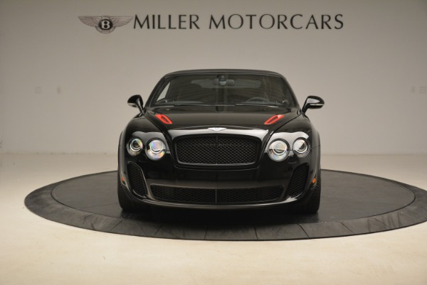 Used 2013 Bentley Continental GT Supersports Convertible ISR for sale Sold at Alfa Romeo of Westport in Westport CT 06880 13