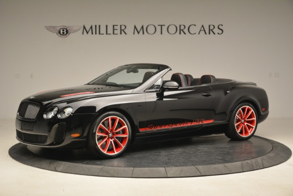 Used 2013 Bentley Continental GT Supersports Convertible ISR for sale Sold at Alfa Romeo of Westport in Westport CT 06880 2