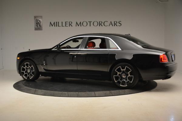 Used 2017 Rolls-Royce Ghost Black Badge for sale Sold at Alfa Romeo of Westport in Westport CT 06880 4