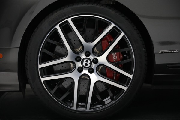 Used 2017 Bentley Continental GT Supersports for sale Sold at Alfa Romeo of Westport in Westport CT 06880 15