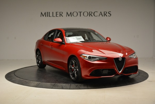 New 2018 Alfa Romeo Giulia Ti Sport Q4 for sale Sold at Alfa Romeo of Westport in Westport CT 06880 11