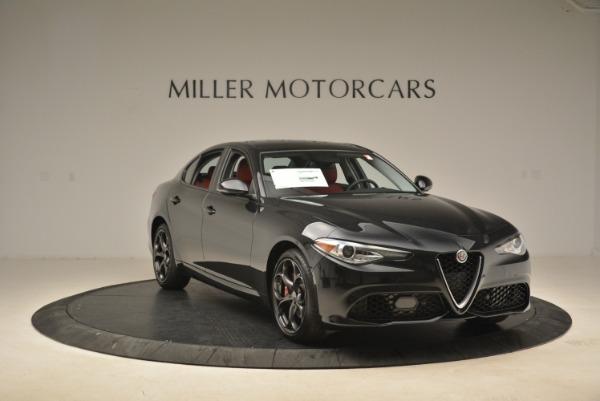 New 2018 Alfa Romeo Giulia Ti Sport Q4 for sale Sold at Alfa Romeo of Westport in Westport CT 06880 11