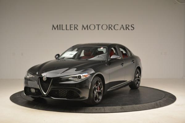 New 2018 Alfa Romeo Giulia Ti Sport Q4 for sale Sold at Alfa Romeo of Westport in Westport CT 06880 1