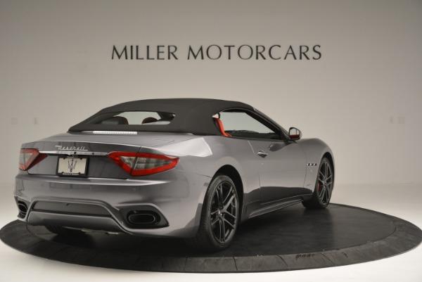 New 2018 Maserati GranTurismo Sport Convertible for sale Sold at Alfa Romeo of Westport in Westport CT 06880 19