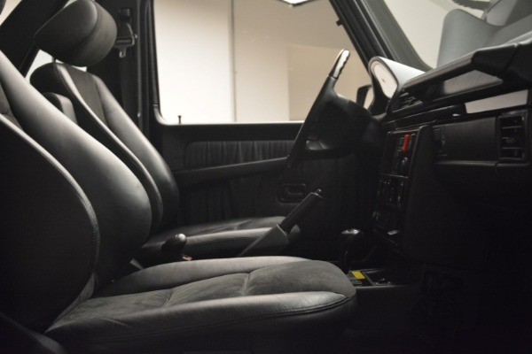Used 2000 Mercedes-Benz G500 RENNTech for sale Sold at Alfa Romeo of Westport in Westport CT 06880 17