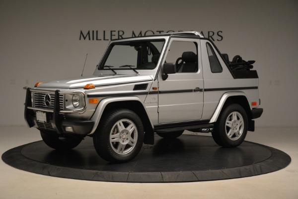Used 2000 Mercedes-Benz G500 RENNTech for sale Sold at Alfa Romeo of Westport in Westport CT 06880 2