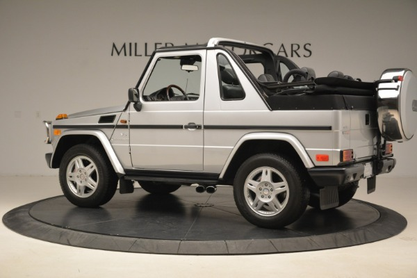 Used 2000 Mercedes-Benz G500 RENNTech for sale Sold at Alfa Romeo of Westport in Westport CT 06880 4