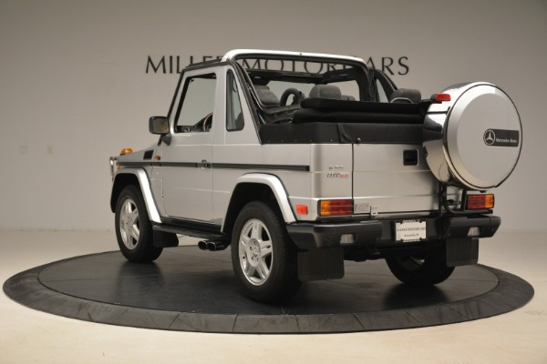 Used 2000 Mercedes-Benz G500 RENNTech for sale Sold at Alfa Romeo of Westport in Westport CT 06880 5