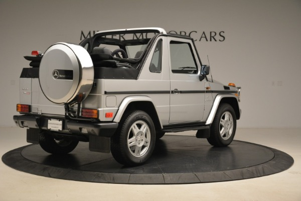 Used 2000 Mercedes-Benz G500 RENNTech for sale Sold at Alfa Romeo of Westport in Westport CT 06880 7