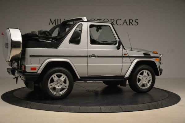 Used 2000 Mercedes-Benz G500 RENNTech for sale Sold at Alfa Romeo of Westport in Westport CT 06880 8