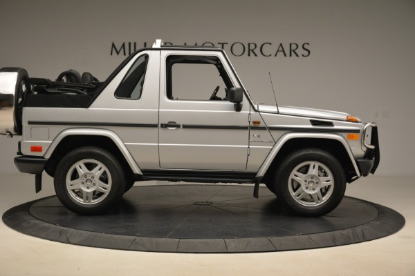 Used 2000 Mercedes-Benz G500 RENNTech for sale Sold at Alfa Romeo of Westport in Westport CT 06880 9