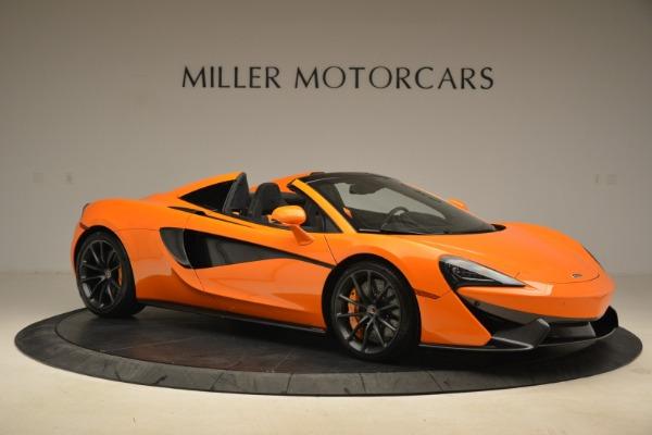 Used 2018 McLaren 570S Spider Convertible for sale Sold at Alfa Romeo of Westport in Westport CT 06880 10
