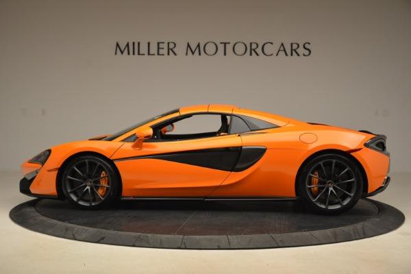 Used 2018 McLaren 570S Spider Convertible for sale Sold at Alfa Romeo of Westport in Westport CT 06880 16