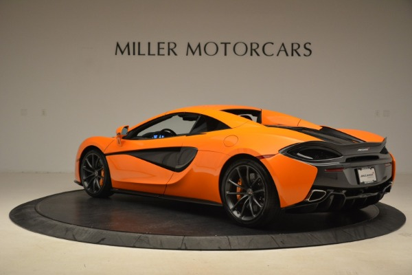 Used 2018 McLaren 570S Spider Convertible for sale Sold at Alfa Romeo of Westport in Westport CT 06880 17